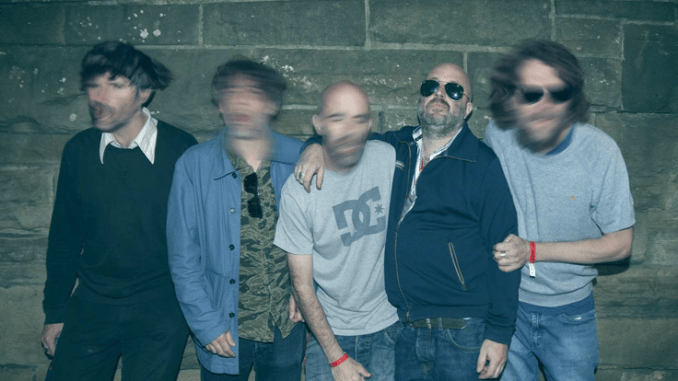 Listen to Super Furry Animals stream of unheard, 1995 demo of classic, expletive-laden single 'The Man Don't Give A F***'.