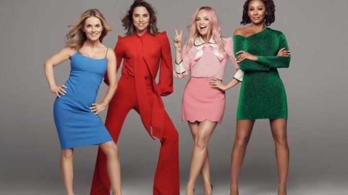 The SPICE GIRLS - Kick Off 2019 Stadium Tour in Dublin's Croke Park on Friday 24th May