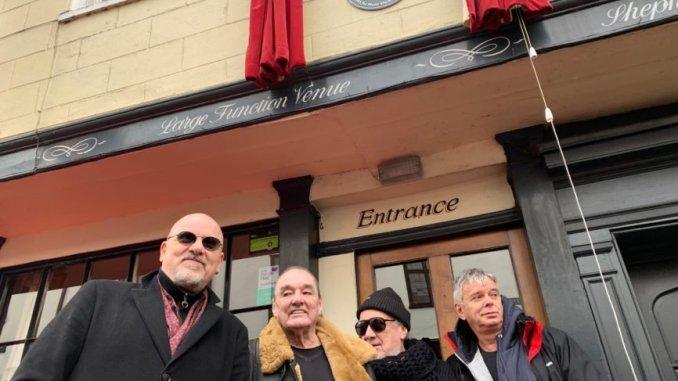 The Stranglers present the Star Inn, with prestigious PRS for Music Heritage Award 1