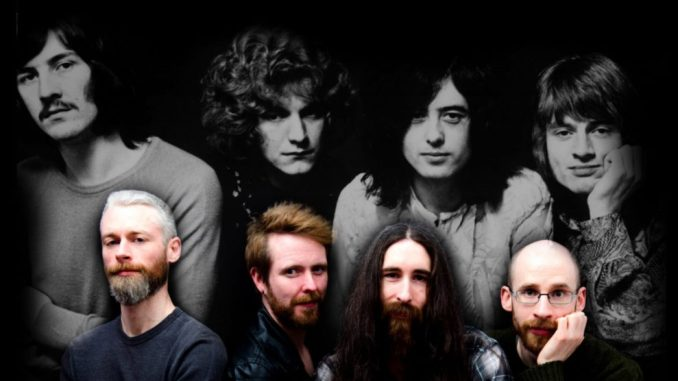 Led Zeppelin tribute act, NO STAIRWAY announce a 50th Anniversary Show at The Limelight 2, Belfast, Friday, November 8th
