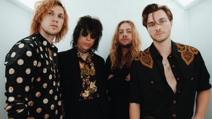 British glam rockers THE STRUTS share video for 'Tatler Magazine'