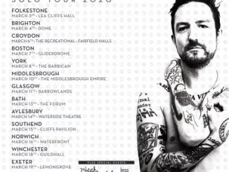 FRANK TURNER announces solo tour for 2020