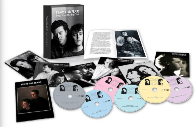 TEARS FOR FEARS announce 35th anniversary 'Songs From The Big Chair' reissue