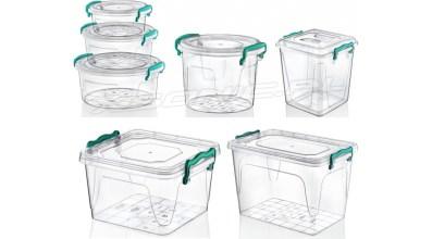 Znalezione obrazy dla zapytania pojemniki plastikowe małe