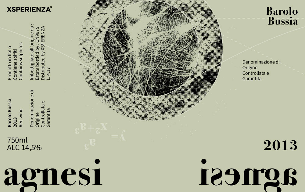 Xsperienza Agnesi's label