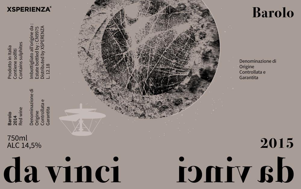 Etichetta vino Da Vinci