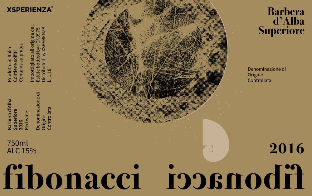 Etichetta del Vino Fibonacci