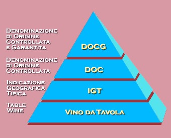 QUAL'E' LA DIFFERENZA TRA DOC E DOCG?