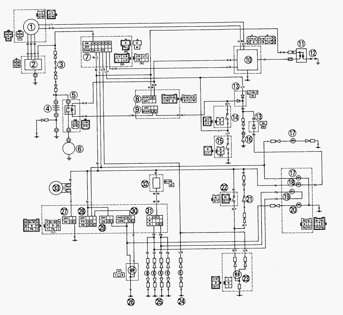 Easy Wiring Diagram Blaster -Ford Expedition Trailer Plug Wiring Diagram |  Begeboy Wiring Diagram Source | 1998 200 Yamaha Blaster Wiring Diagram |  | Begeboy Wiring Diagram Source