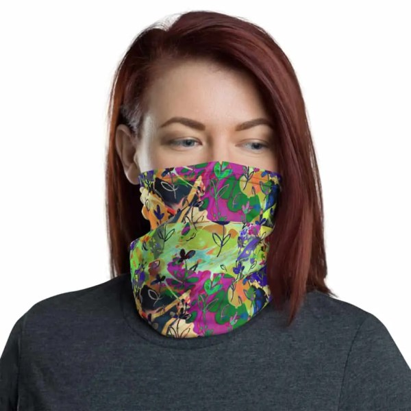 Eden Wildflower Fashion Gaiter