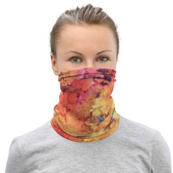 Golden Sunset Fashion Gaiter