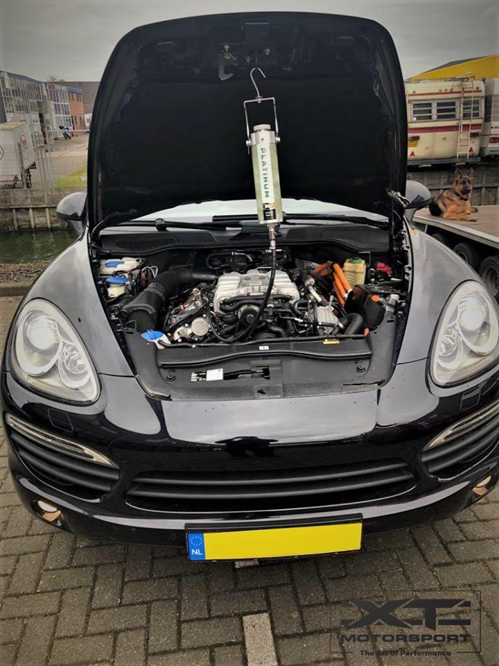 XT motorsport 3.0TFSI Supercharged motoren reinigen