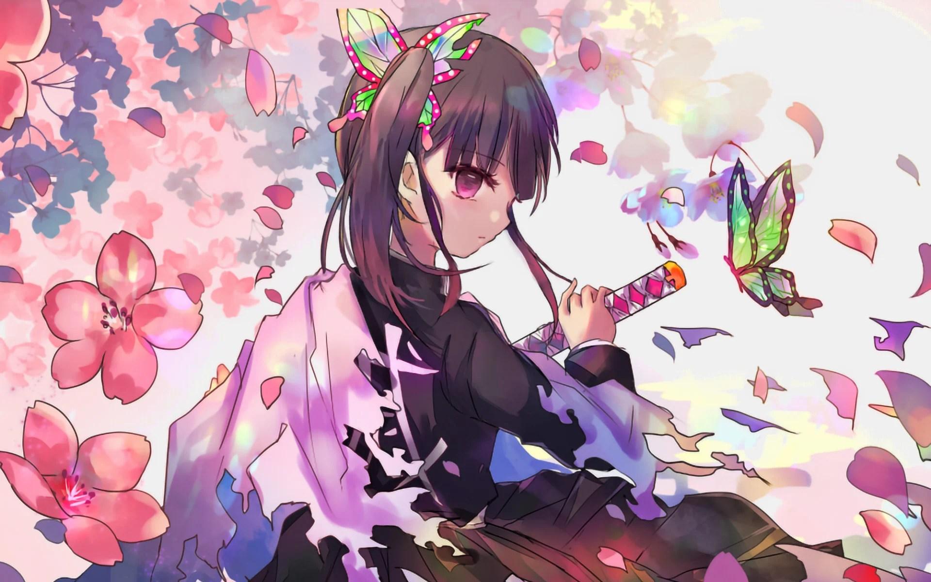 Zerochan anime image gallery for kimetsu no yaiba (demon slayer: Kanao Tsuri from Kimetsu No Yaiba Anime Wallpaper Full HD ...