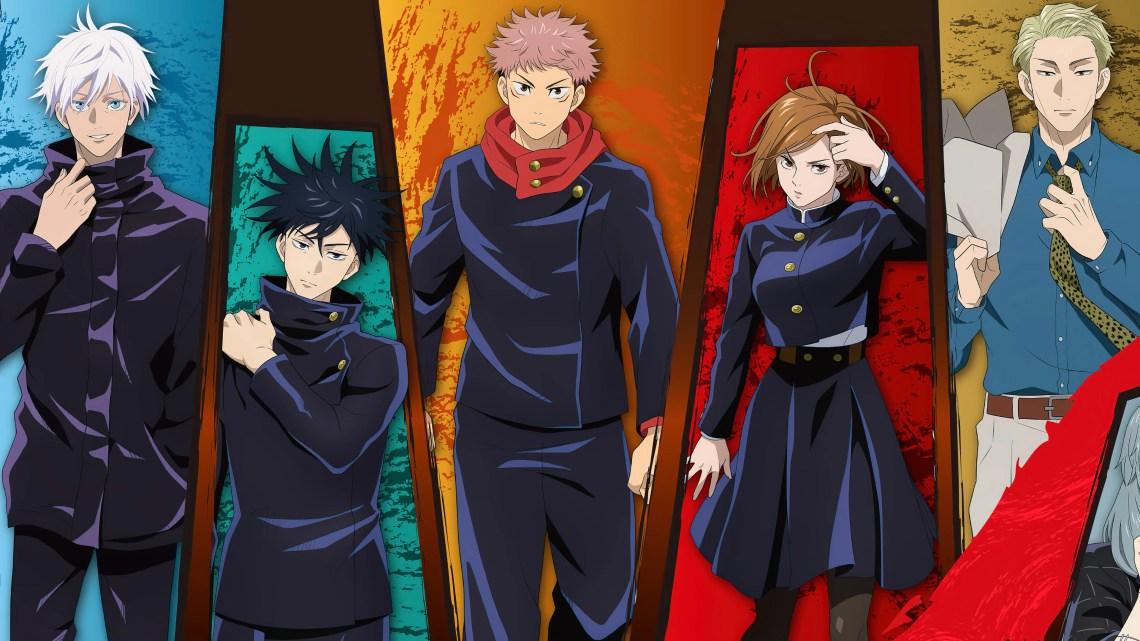 Characters From Jujutsu Kaisen Anime Wallpaper 4k Ultra Hd Id 6712