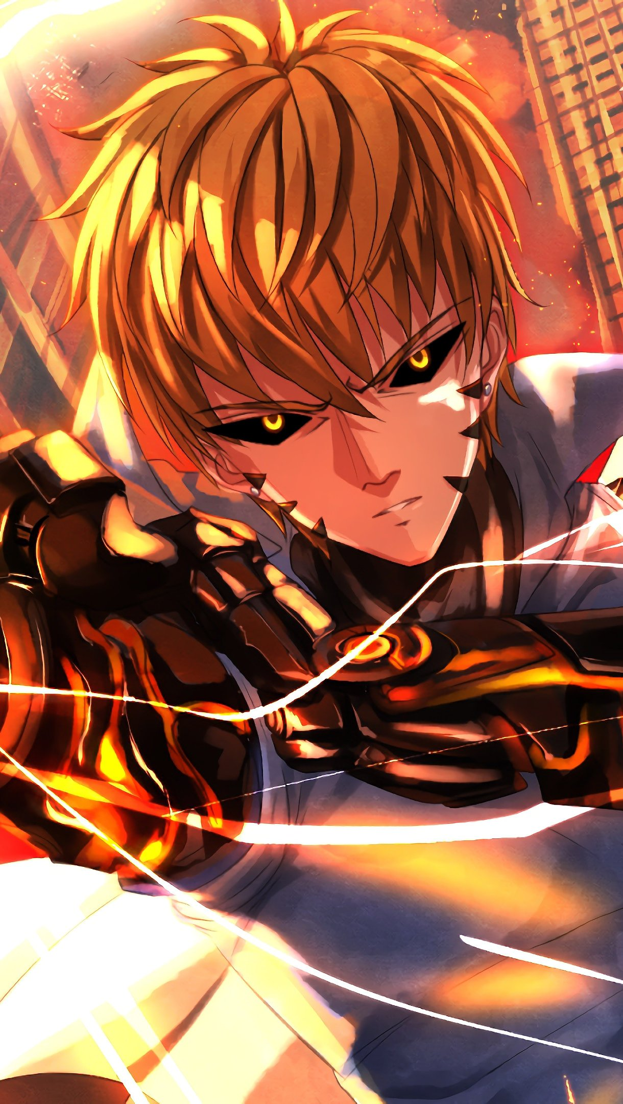 Search free one punch man wallpapers on zedge and personalize your phone to suit you. Genos One Punch Man Anime Wallpaper 4k Ultra HD ID:3220