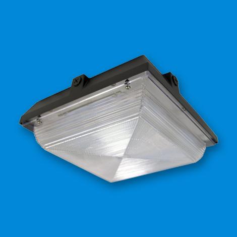 LED Canopy Lighting, LED lighting fixture