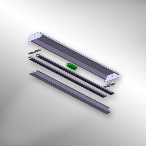 WRK, Wrap Retrofit Kit, Surface Mount Wrap Around, Fluorescent Retrofit, XtraLight LED Lighting Solutions, Outdoor and Indoor Lighting, Relighting, Industrial Retrofit, Retrofit Wrap Around