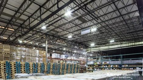 Low Profile Blade LEB LED High Bay Warehouse Application