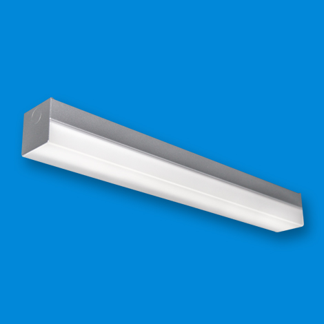 SAS LED - Square Body - Silver Finish