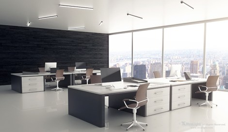 SAS LED | Slim Architectural Strip Office Application