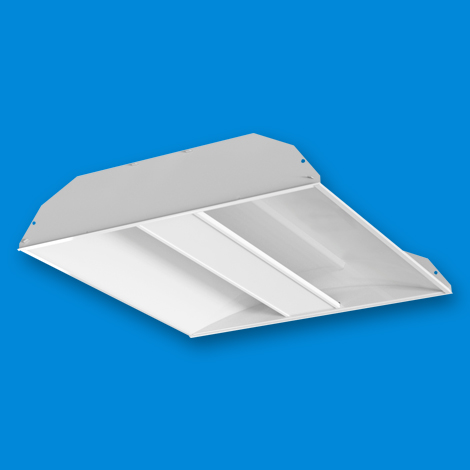ART LED - Architectural Recessed Troffer 2x2 Flat Center Lens