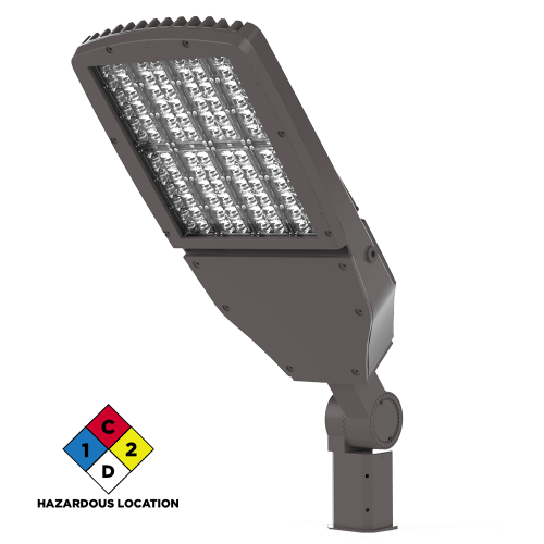 Viento Flood Light Large LED Hazardous Location Isometric View Xtralight Manufacturing, LTD.
