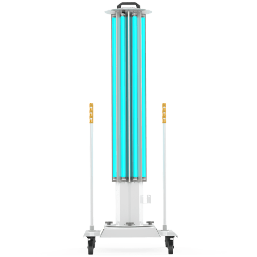 UVC Mobile Disinfection System Front View XtraLight LED Solutions