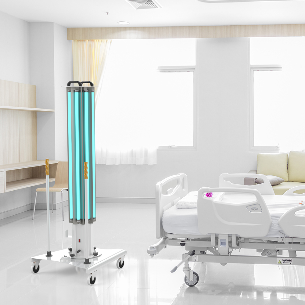 UVC-Mobile High Power Ultraviolet Disinfection System For Healthcare and Hospitals XtraLight LED Solutions