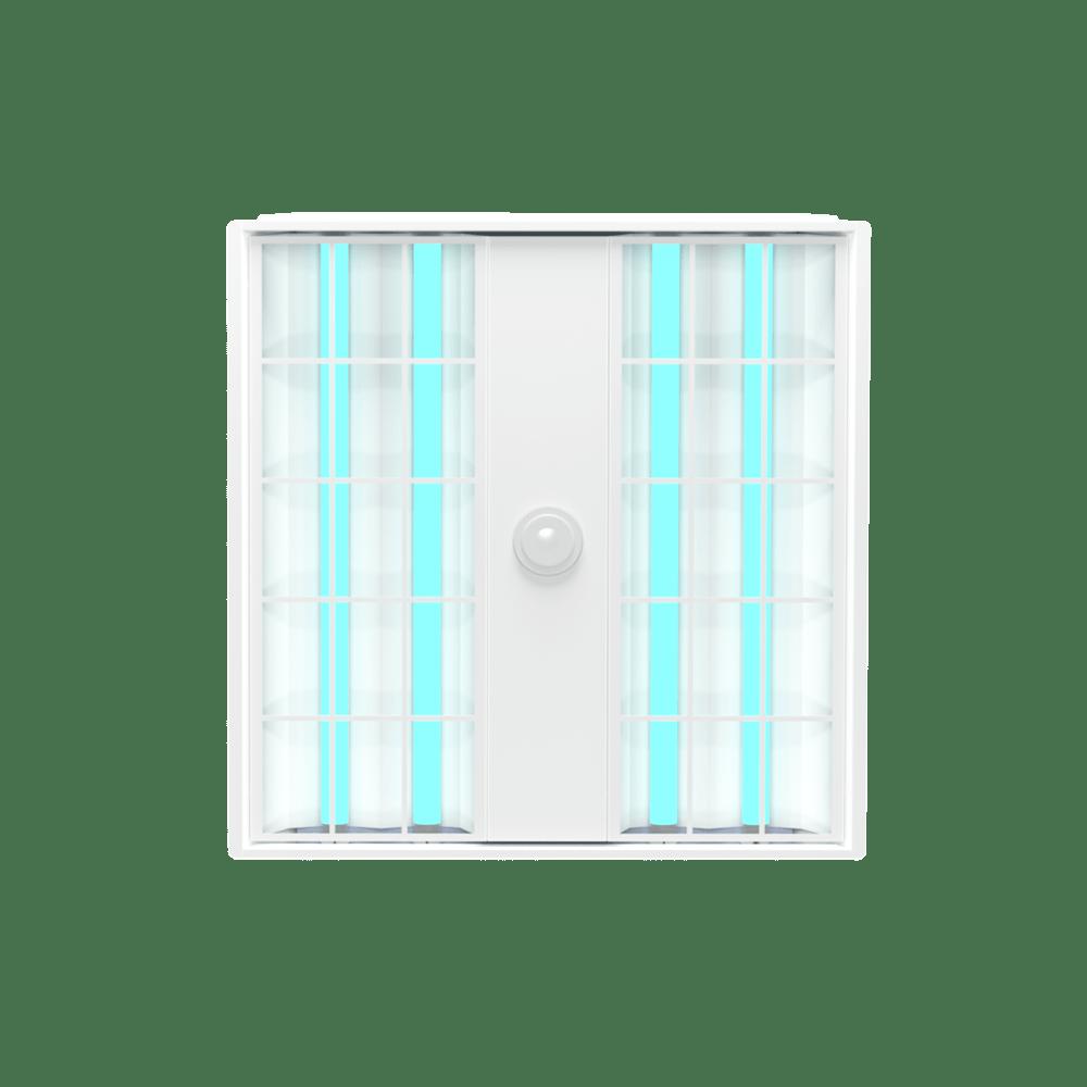 UVC Troffer 2x2 Bottom View XtraLight LED Solutions