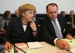 BERLIN - SEPTEMBER 30:  German Chancellor Ange...