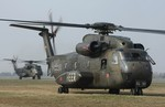 BADEN BADEN, GERMANY - APRIL 03:  CH-53 helico...