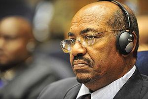 Omar Hassan Ahmad al-Bashir, the president of ...