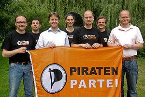 Vorstand der Piratenpartei Deutschland auf dem...
