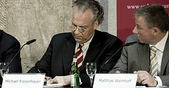 Neues Museum - Press Conference - Michael Eiss...