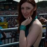 B. R. auf der Loveparade