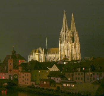 Der schiefe Dom von Regensburg