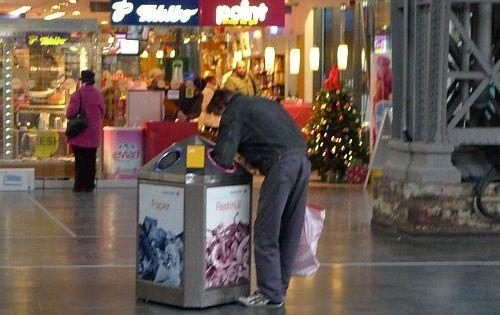 Flaschensammler, Bild: pflasterstrand.net
