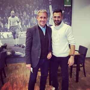 Sercan Güvenisik traf seinen alten Trainer und Weltmeister Littbarski