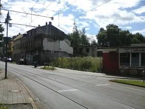 Laar: Der unmotivierte Abriss hat eine hässliche Lücke in die Friedrich-Ebert-Straße gerissen.