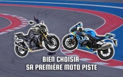 Comment bien choisir sa première moto de piste ?