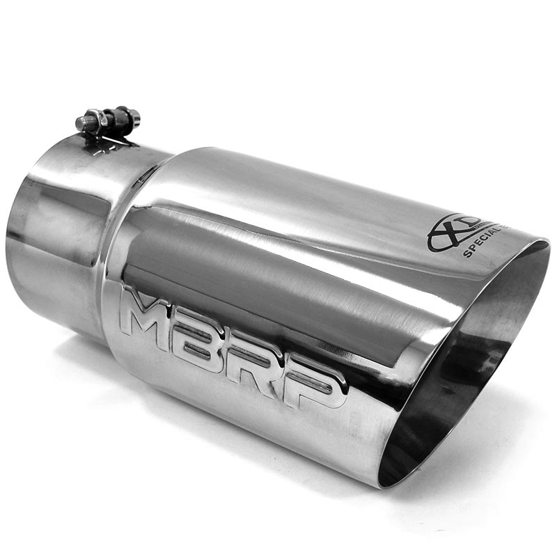 mbrp angled exhaust tip 5 inlet 6 outlet t5074 xdp special edition
