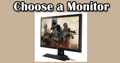 choose a monitor