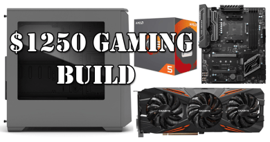 $1250 Gaming Build