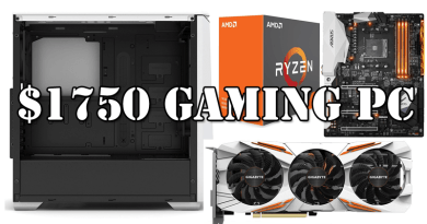 Build the best $1750 gaming pc for 4K ultra