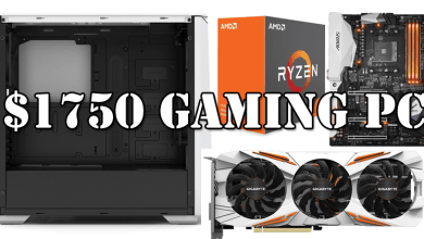 $1750 Gaming PC