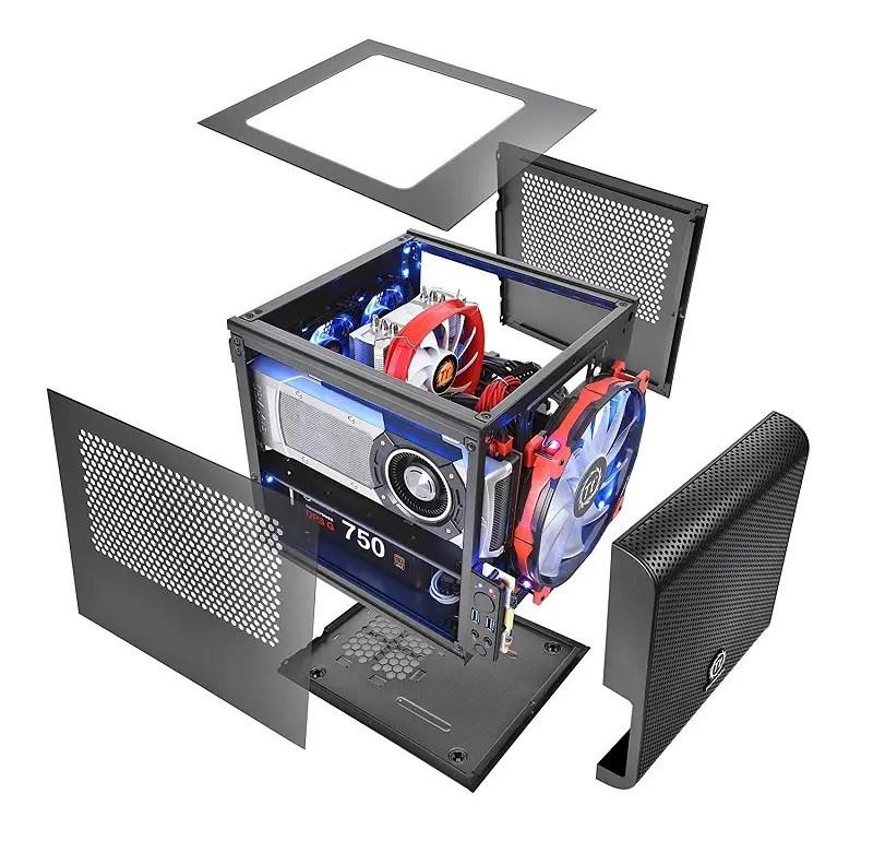 Thermaltake CORE V1 Black Edition Mini-ITX case 3