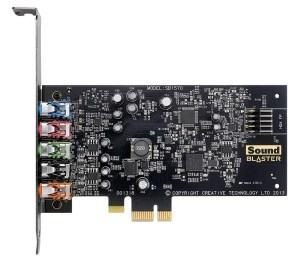 Creative Sound Blaster Audigy FX PCIe 5.1 Sound Card