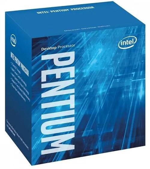 Intel Boxed Pentium Processor G4500