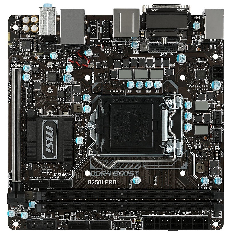 MSI Pro Series B250I PRO 1