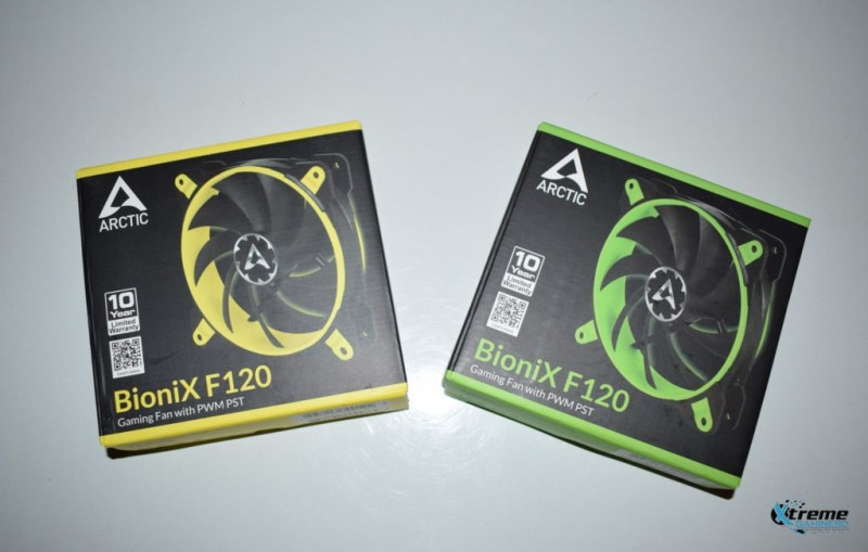 Arctic BioniX F120 gaming fan package